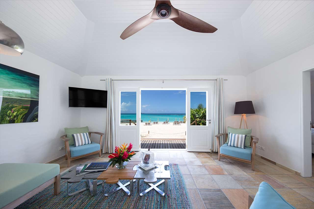 2 Bedroom Beach Front Villa - Pearl Beach Saint Barth : Pearl Beach ...